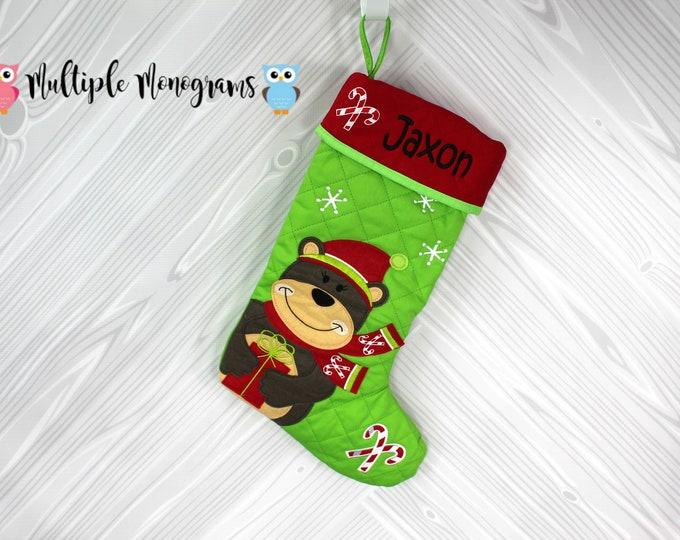 Personalized Christmas Stocking Stephen Joseph