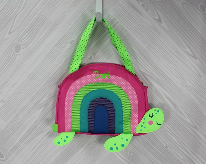Turtle Beach Tote toddler kids FREE personalization and sand toys included