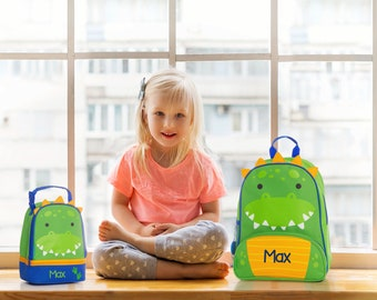 Dino NEW Style Sidekick Backpack toddler preschool kids FREE Embroidery Personalization NEW design