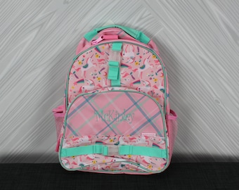 Unicorn Backpack toddler preschool kids FREE Personalization