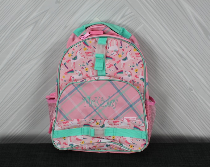 Unicorn Backpack toddler preschool kids FREE Personalization