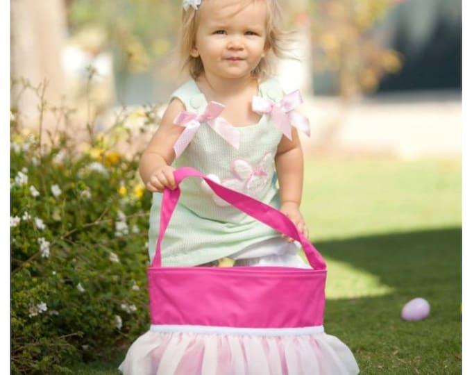 Easter Basket Pink Ruffle Tutu