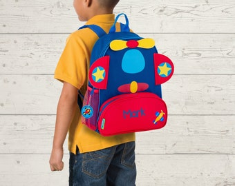 Airplane NEW Style Sidekick Backpack toddler preschool kids FREE Embroidery Personalization NEW design