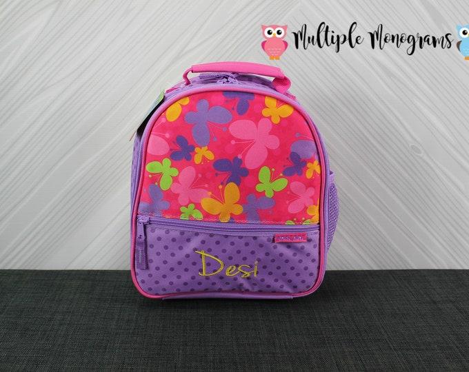 Butterfly Lunchbox toddler kids preschool Free Personalization