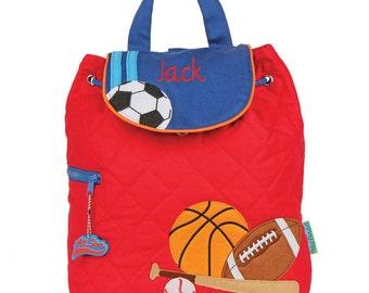 Sports Backpack toddler preschool kids FREE Personalization