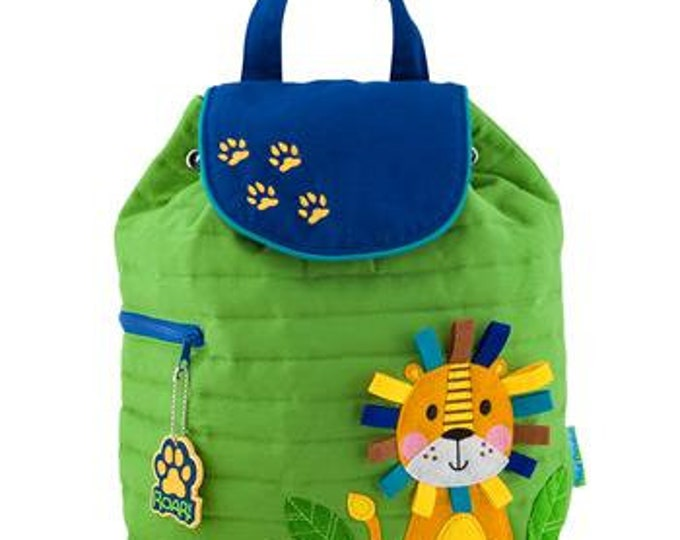 Lion Backpack toddler preschool kids FREE Personalization