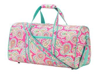 Duffel Bag FREE Personalization