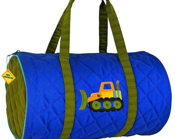 Construction Trucks Kids Duffel Bag FREE Personalization
