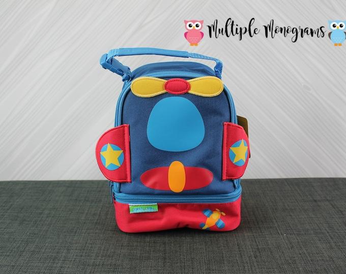Airplane Lunchbox toddler preschool kids FREE personalization NEW design