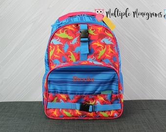 Dinosaur Backpack toddler preschool kids FREE Personalization