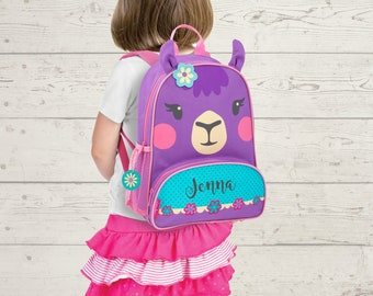 Llama NEW Style Sidekick Backpack toddler preschool kids FREE Embroidery Personalization NEW design