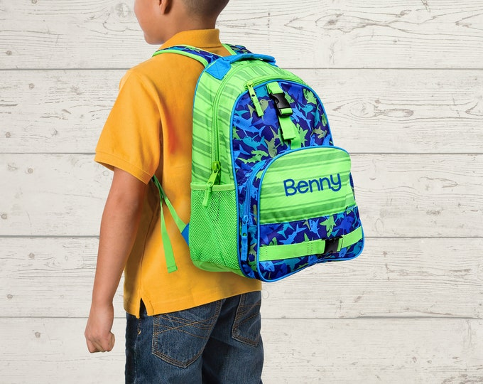 Children's Backpack Stephen Joseph FREE Embroidery Personalization