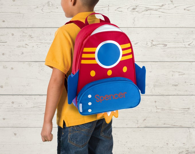 Space NEW Style Sidekick Backpack toddler preschool kids FREE Embroidery Personalization NEW design