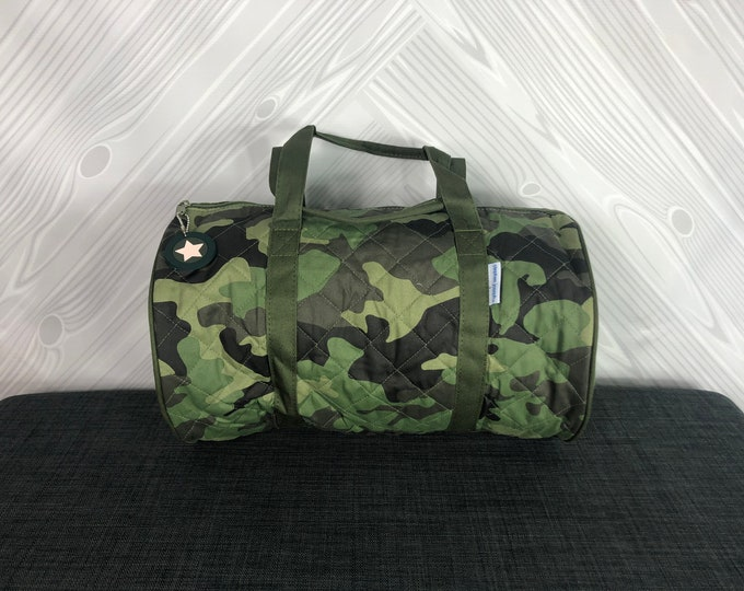 Camo Kids Duffel Bag FREE Personalization