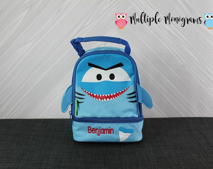 Shark Lunchbox Toddler kids lunch box FREE personalization NEW design
