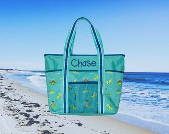 Children's Personalized Beach Bag Embroidery