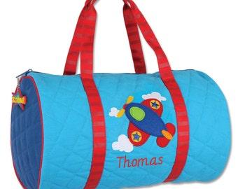 Airplane Kids Duffel Bag FREE Personalization
