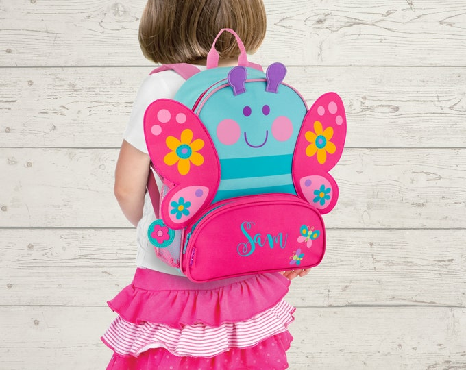 Butterfly NEW Style Sidekick Backpack toddler preschool kids FREE Embroidery Personalization NEW design