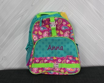 Paisley Backpack toddler preschool kids FREE Personalization
