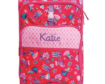 Princess Rolling Luggage toddler preschool kids FREE personalization Carry On Size Luggage