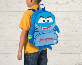 Shark NEW Style Sidekick Backpack toddler preschool kids FREE Embroidery Personalization NEW design