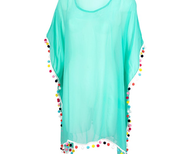 Women's Pom-Tastic Coverup FREE Personalization