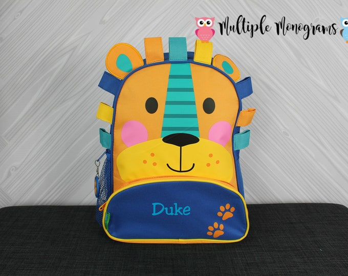 Lion NEW Style Sidekick Backpack toddler preschool kids FREE Personalization NEW design