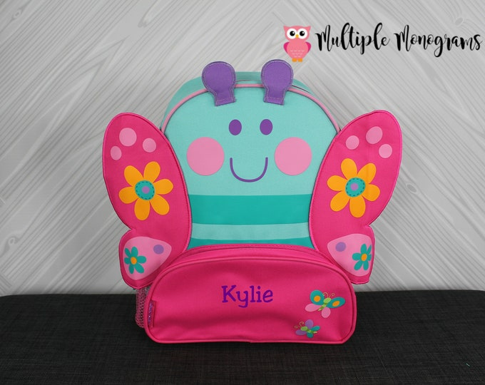 Butterfly NEW Style Sidekick Backpack toddler preschool kids FREE Personalization NEW design