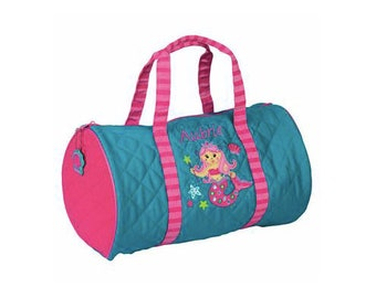 Mermaid Kids Duffel Bag FREE Personalization