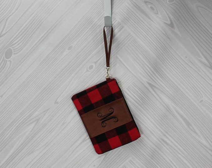Women's Zip Wristlet Clutch FREE Personalization