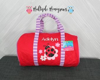 Ladybug Kids Duffel Bag FREE Personalization