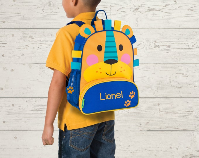 Lion NEW Style Sidekick Backpack toddler preschool kids FREE Embroidery Personalization NEW design