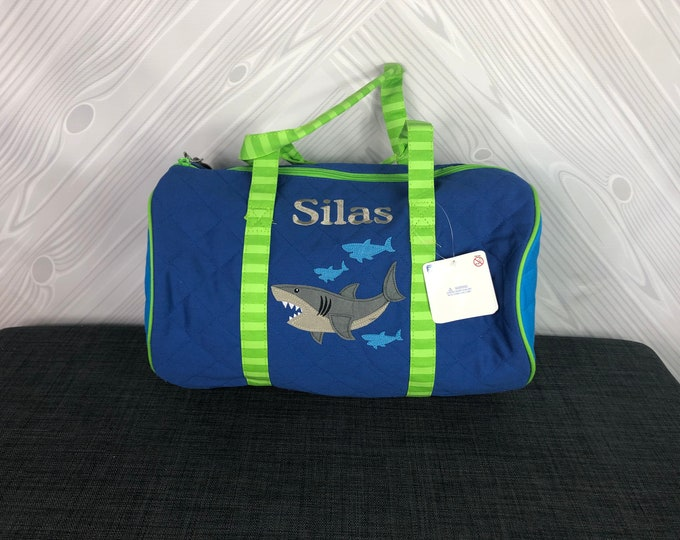 Shark Kids Duffel Bag FREE Personalization