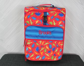 Dinosaur Rolling Luggage toddler preschool kids FREE Embroidery personalization Carry On Size Luggage