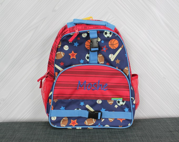 Sports Backpack toddler preschool kids FREE Personalization