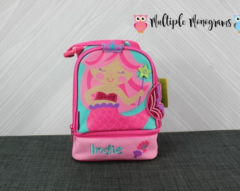 Mermaid Lunchbox toddler preschool kids FREE personalization NEW design