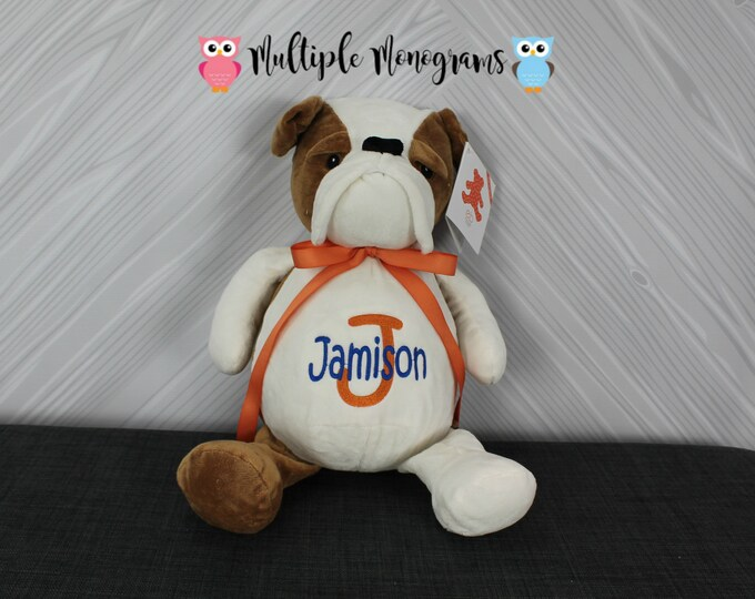 Personalized Stuffed Animal Completely Customizable Baby Shower New Baby Baptism Adoption Christmas Birthday Gift