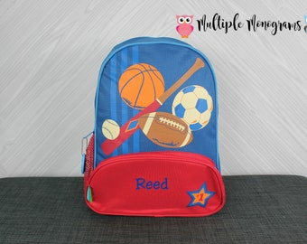 Sports NEW Style Sidekick Backpack toddler preschool kids FREE Personalization NEW design