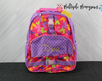 Butterfly Backpack toddler preschool kids FREE Personalization