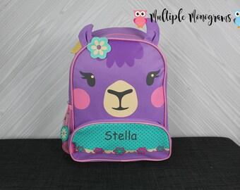 Llama NEW Style Sidekick Backpack toddler preschool kids FREE Personalization NEW design