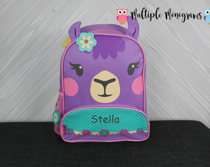 Llama NEW Style Sidekick Backpack toddler preschool kids FREE Personalization NEW design