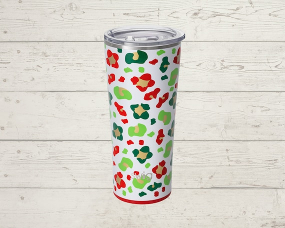 Holiday Swig Life 22 oz Tumbler Straw INCLUDED