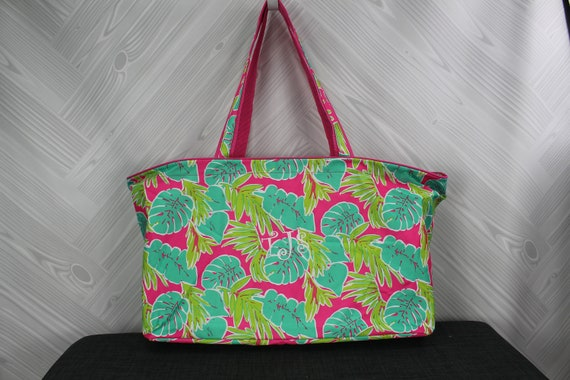 Monogram Reusable Grocery Bag Large Market Bag Monogrammed Shopping Bag Personalized Large Utility Tote Ultimate Tote Bag