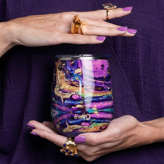 Swig Life Stemless Wine Glass with Slider Lid 14 oz