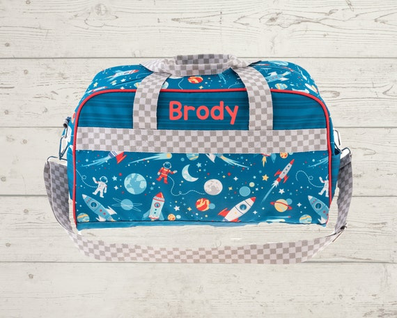 Children's All Over Print Duffel Bag FREE Embroidery Personalization
