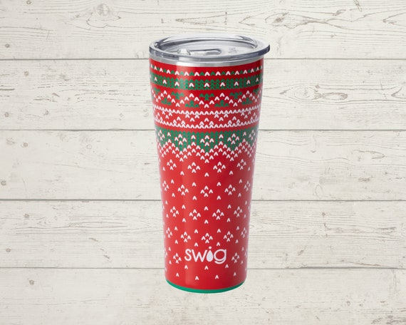 Holiday Swig Life 32 oz Tumbler Straw INCLUDED