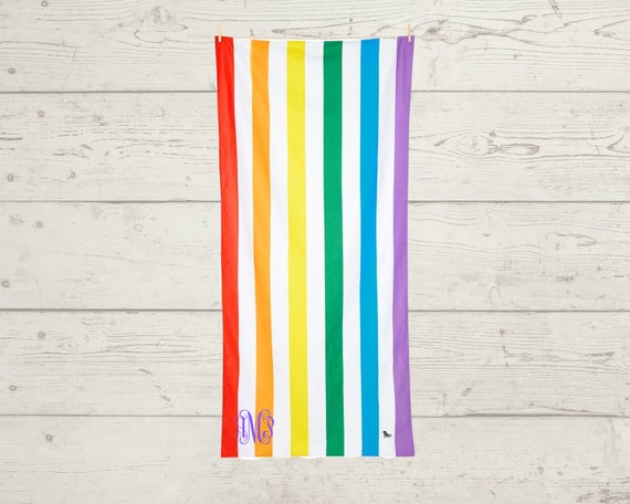 Quick Dry Beach Towel with Optional Personalization