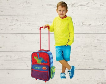 Children's Rolling Luggage FREE Embroidery Personalization Carry On Size Luggage