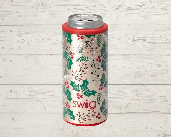 Holiday Swig Life Slim Can Cooler 12 oz