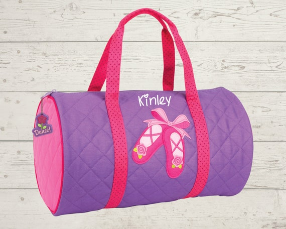 Children's Quilted Duffel Bag FREE Embroidery Personalization